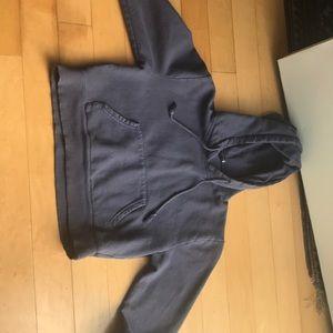Brandy Melville cropped sweatshirt.